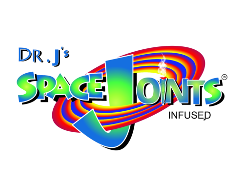 Dr J's Space Blunt Custom Logo Design
