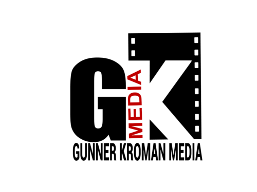 Gunner Kroman Media Custom Logo Design