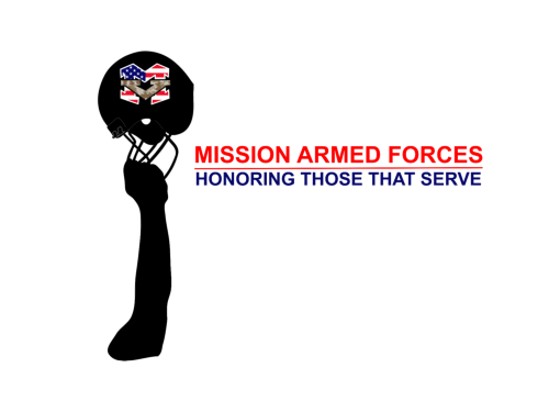 Mission Armed Forces Custom Logo Design