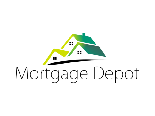 Mortgage Depot Custom Logo Design