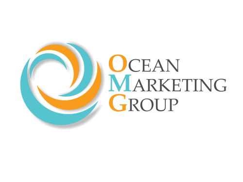 Ocean Marketing Group Custom Logo Design