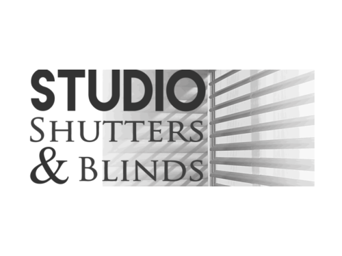 Studio Shutters and Blinds Custom Logo Design