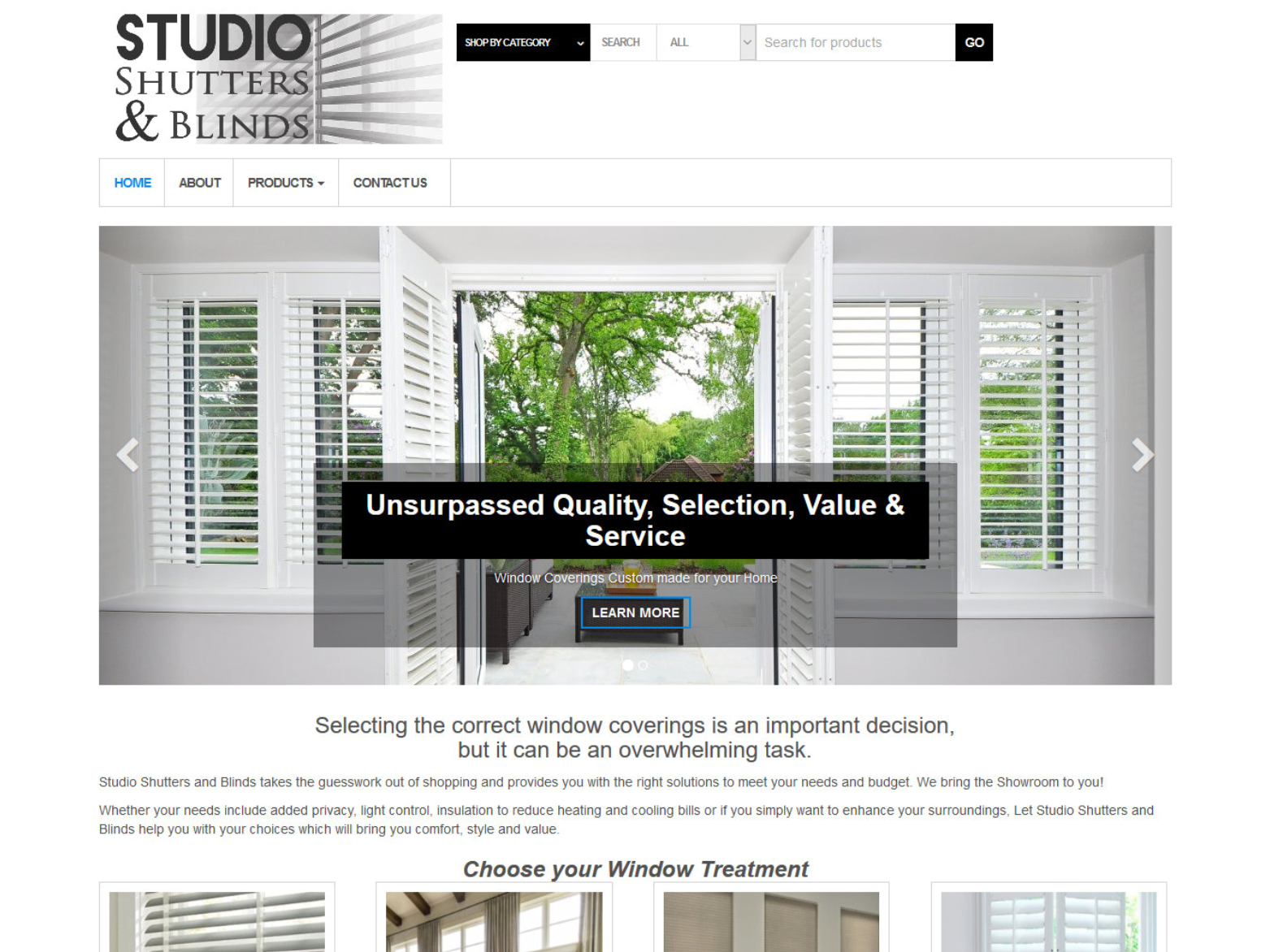 Studio Shutters and Blinds