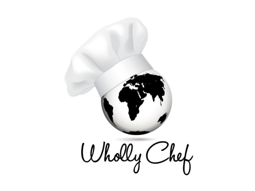 Wholly Chef Custom Logo Design