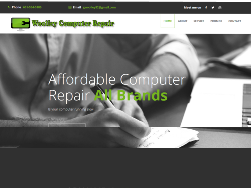 Woolley Computer Repair Website